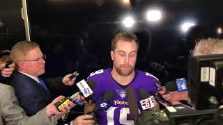 12/30/18: Adam Thielen on his animated discussion with Kirk Cousins
