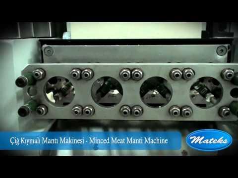 Manti Makinasi Manti Makinesi Cig Kiymali Manti Manti Uretimi