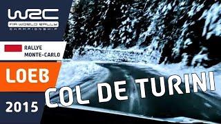WRC Rallye Monte-Carlo 2015: Onboard Sébastien Loeb SS14