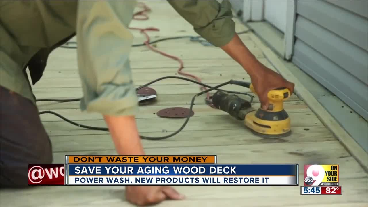 save your aging wood deck