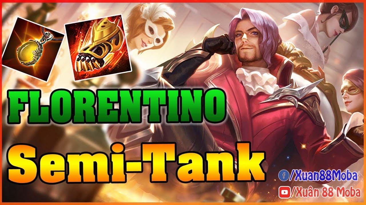 Florentino nửa dame nửa tank – Cách chơi FLORENTINO đi Lane hiệu quả – ARENA OF VALOR FLORENTINO
