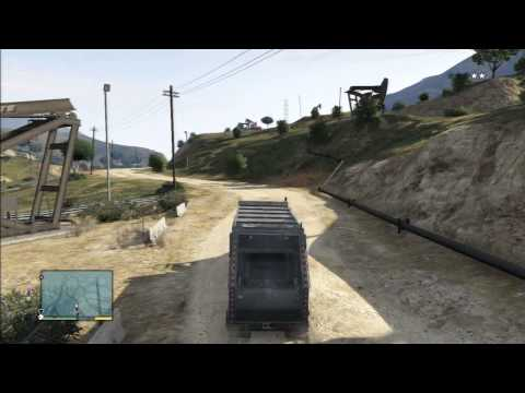 GTA V Gameplay Mission 38 Trash Truck Walkthough HD - 동영상