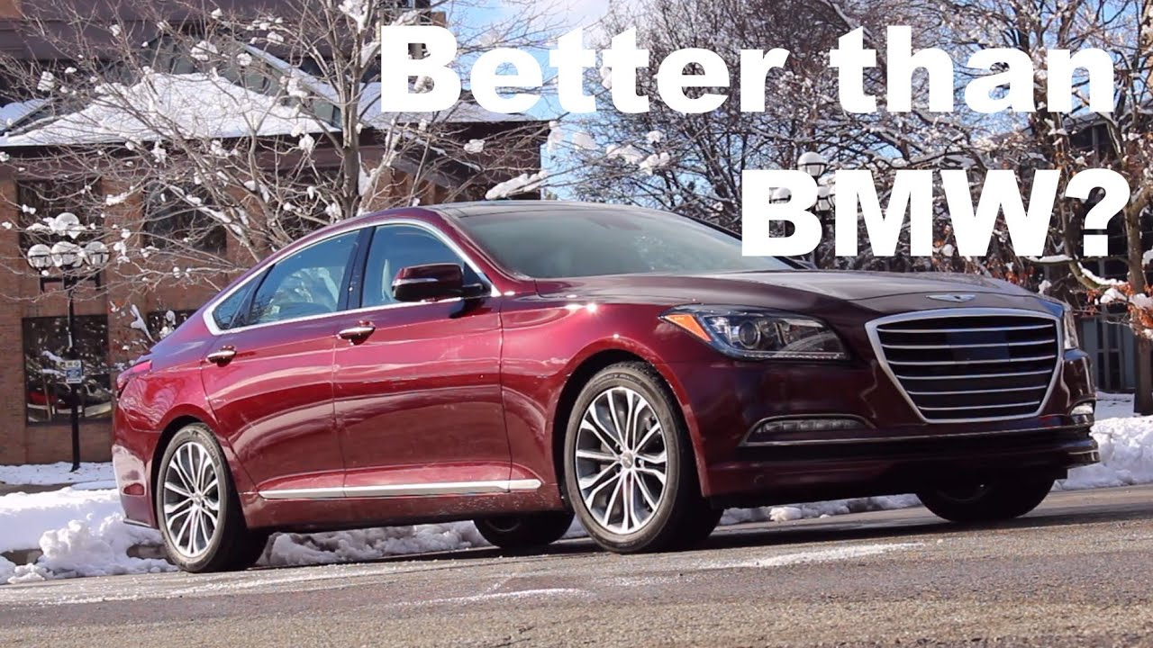 5 Things We Love About the 2016 Hyundai Genesis!