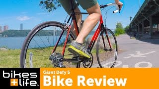 Giant Defy 5 Best Value Road Bike Video Review