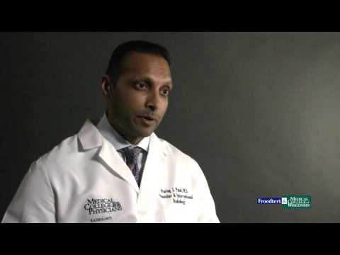 Dr. Parag Patel, interventional radiologist