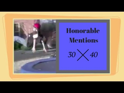 Honorable mentions 30 - 40