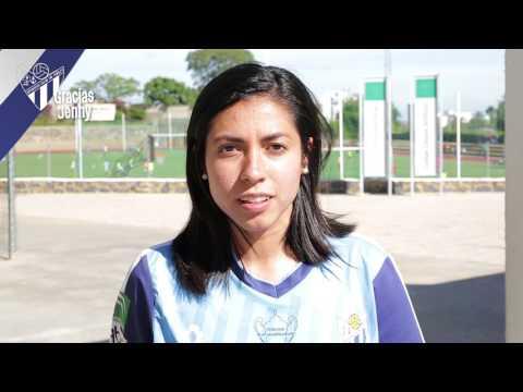 Vídeo homenaje Jenny Benítez #GraciasCapitana #OrgullososDeTi