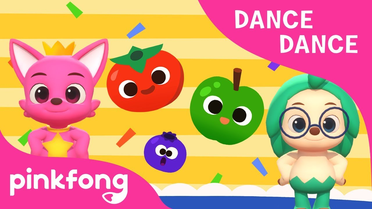 Colorful Fruits | Learn Colors | Dance Dance | Pinkfong Songs for Children