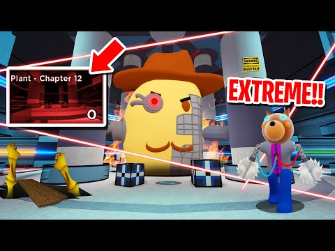 How To Beat ROBLOX PIGGY EXTREME PLANT!! (Roblox Piggy)