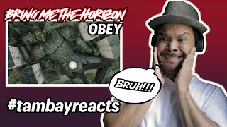 Bring Me The Horizon - OBEY feat. YUNGBLUD (Reaction Video)