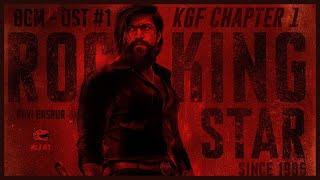 Gambar cover KGF Chapter 1 BGM - OST #1 (8D Audio) + Ringtones Download | OST | Ravi Basrur | Wild Rex