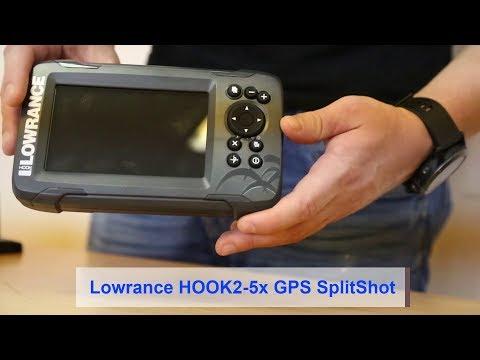 Lowrance Hook2-5x GPS SplitShot - Обзор и распаковка эхолота