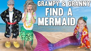 Grampy & Granny Find a Mermaid & Shark