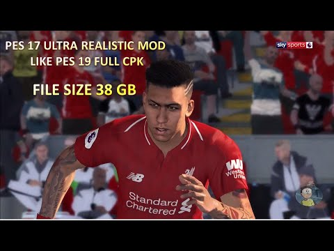 PES 2017 ULTRA REALISTIC MOD LIKE PES 19 with 1200 face + 706