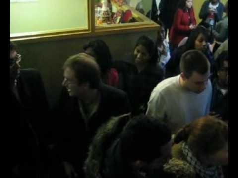 """Krisna Saravanamuttu and Jesse Zimmerman barricade Jewish students at York"""