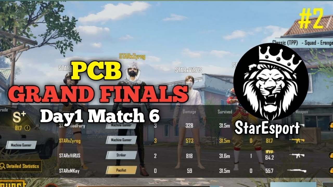Download PCB Grand Finals Day 1 Match 6 • PUBG • StarEsport • PAKISTAN 🇵🇰