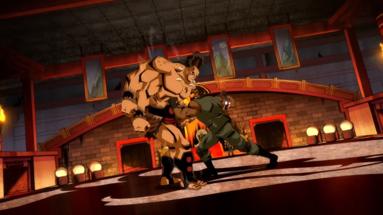 MORTAL KOMBAT LEGENDS   GORO VS JAX