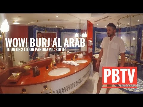 WOW! BURJ AL ARAB PANORAMIC SUITE ROOM TOUR