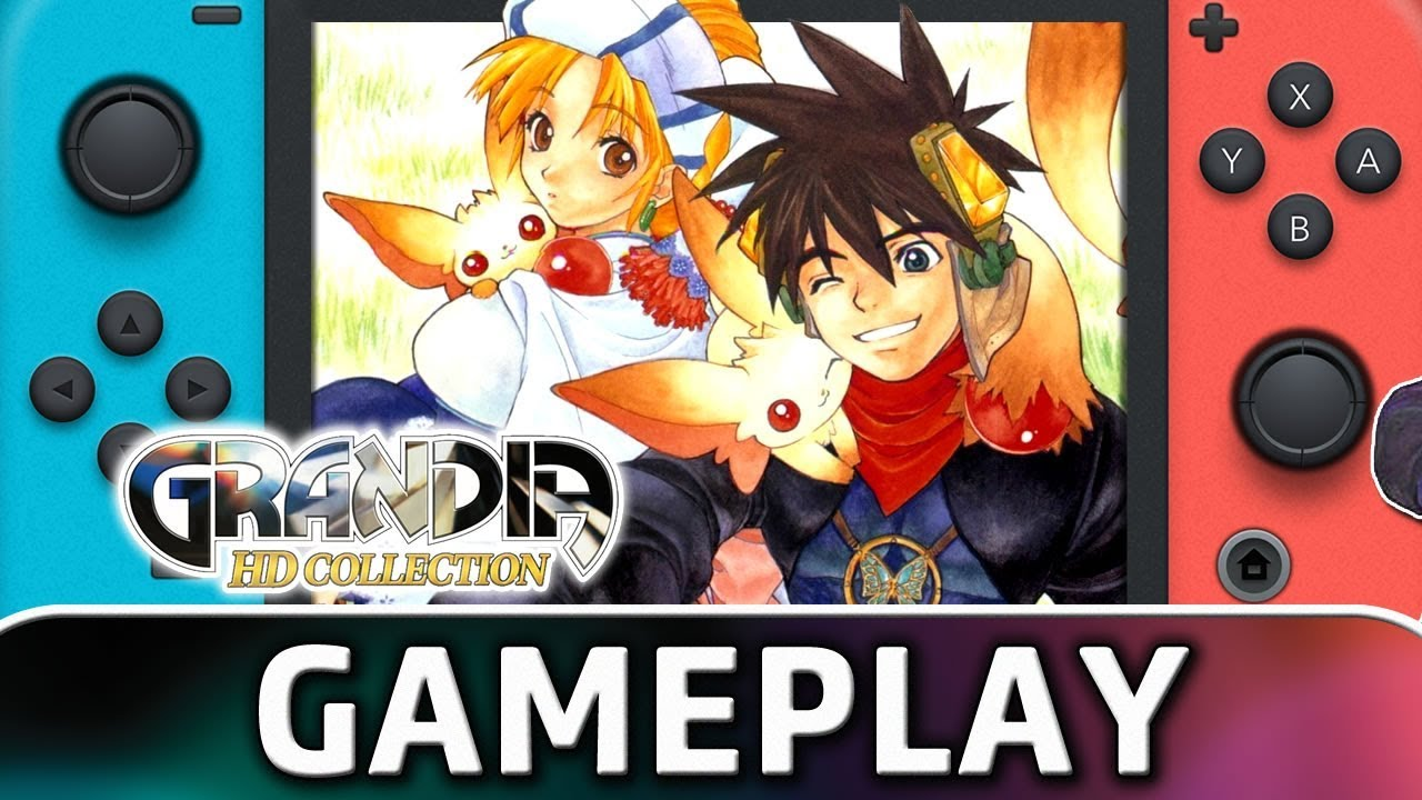 GRANDIA HD Collection | First 40 Minutes on Nintendo Switch
