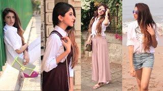 8 Ways I Styled My White Shirt | Aashna Shroff