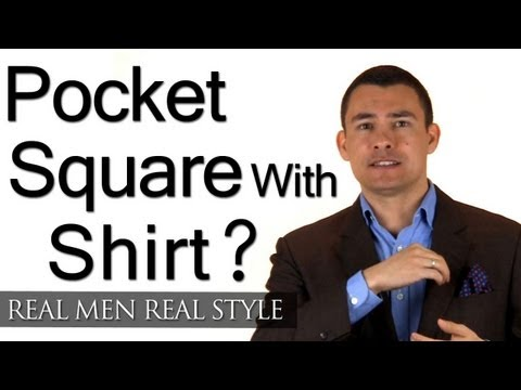 Can You Wear Pocket Square With Shirt Or Vest