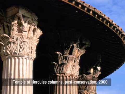 Conservation Project - Temple of Hercules, Italy