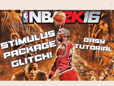 HOW TO EASILY DO THE STIMULUS PACKAGE GLITCH IN NBA 2K16