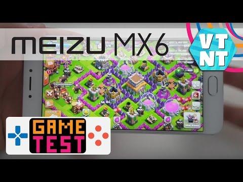 Meizu MX6 Тест Игр