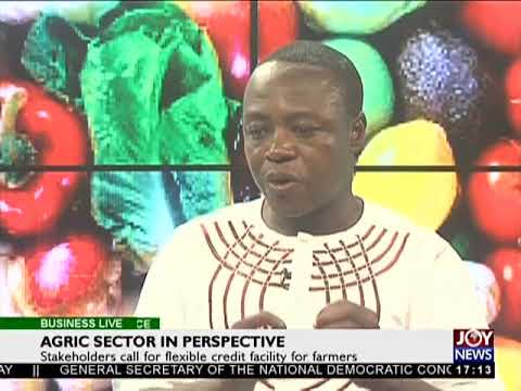 Agric sector in perspective - Business Live on JoyNews (1-12-17)