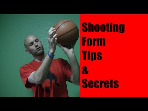 Basketball Shooting Tips - How to Get Form Like Ray Allen