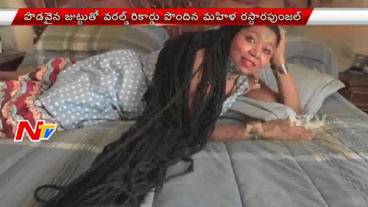 Rasta Rapunzel 55ft Hair | Longest Hair In The World ...