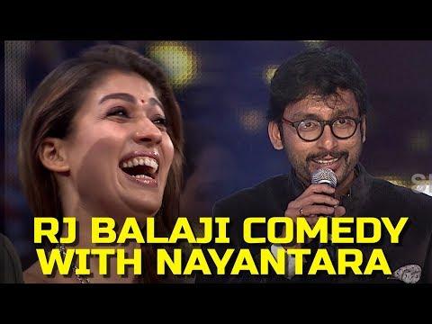 Rj Balaji Comedy With Nayantara
