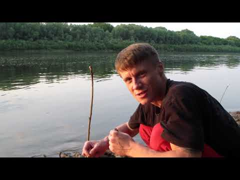 Проба рыбалки на Закидушку(донки)на реке Ока.