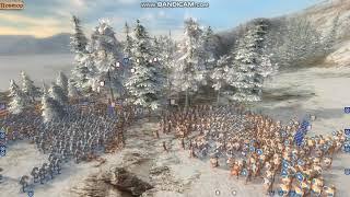massive battle 1500 vs 4000|XIII Century Gold Edition