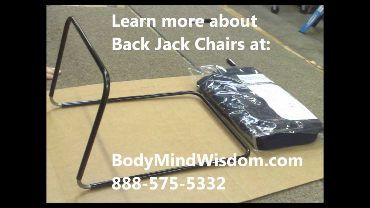 Getting started - Back Jack Chairs  sc 1 st  YouTube & Getting started - Back Jack Chairs - YouTube