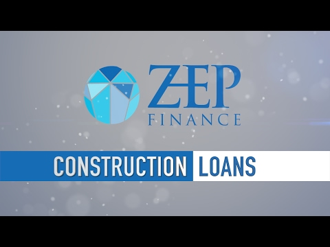 Applying for a construction loan