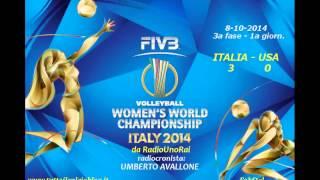 I mondiali di volley femminile alla radio: Italia-USA 3-0 (da RadioUno)