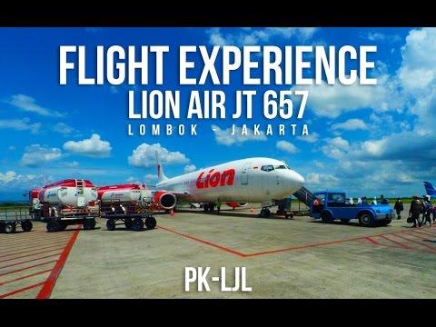 flight experience | Lombok Praya - Jakarta | LOP-CGK | Lion Air