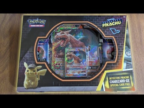 Detective Pikachu Charizard Gx Special Case File Opening