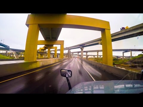 Crazy Texas Highway Interchanges(Day to Day Prime Inc Lease Experience)
