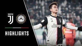 Coppa Italia Highlights: Juventus Vs Udinese - 4-0 - Dybala Delight!