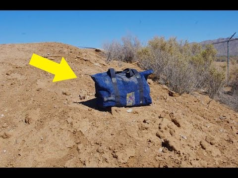 He Was Going To Drive Past This Duffel Bag In The Desert, But Then It Began To Do Something Strange