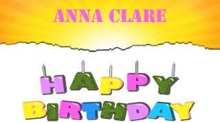 AnnaClare   Wishes & Mensajes - Happy Birthday