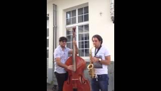 Duo Sax & Double Bass