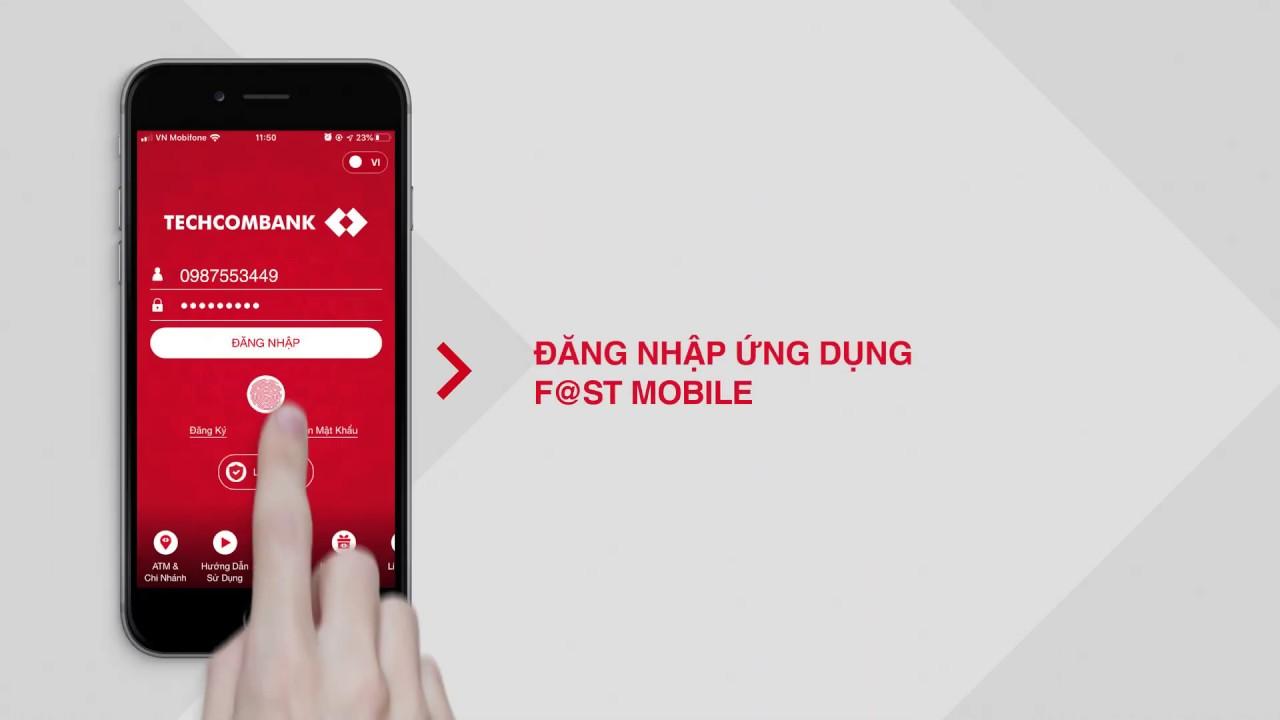 Hướng dẫn sử dụng Smart OTP trên E-Banking Techcombank