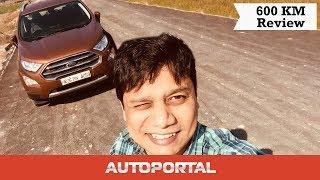 Ford EcoSport 600 Km Delhi to Mussoorie - Test Drive – Autoportal