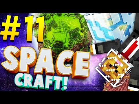 Minecraft SPACE CRAFT - EXPLORING THE UNIVERSE - Modded Survival #11