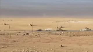بالفيديو .. اللقطات الأولى للجيش العراقي على تخوم الموصل