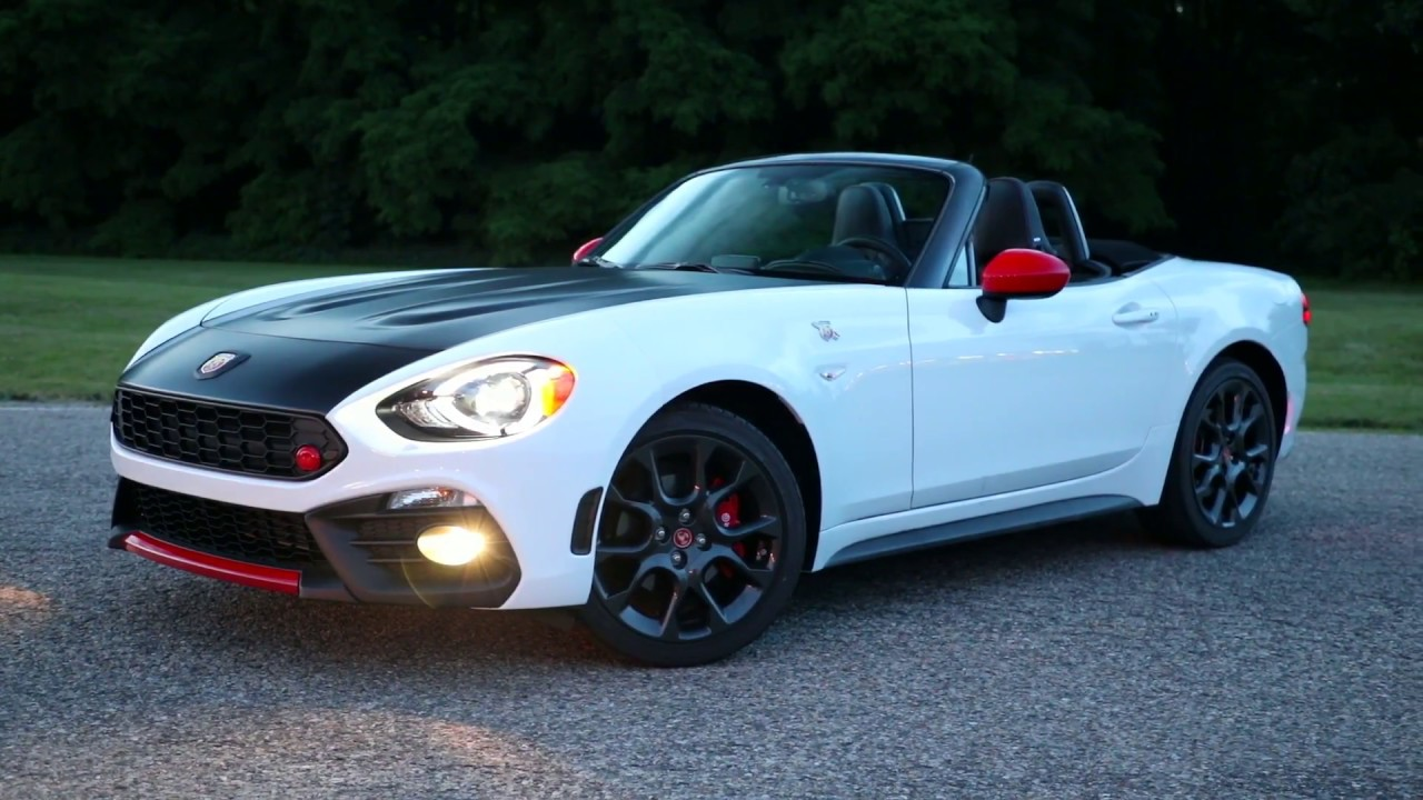 2019 Fiat 124 Spider Abarth Running Footage Youtube
