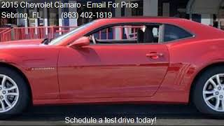 2015 Chevrolet Camaro LS 2dr Coupe w/2LS for sale in Sebring